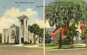 FL - Deland, First Methodist & Trinity Methodist Churches