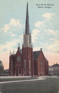First  M. E. Church, Salem, Oregon, 00-10s