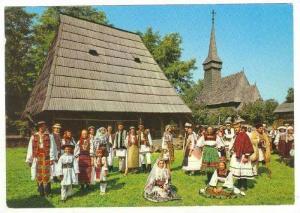 BUCHAREST - Dancers, Romania, 1950-60s