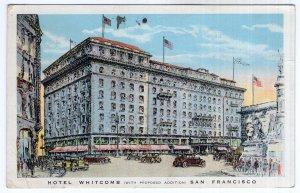 San Francisco, Hotel Whitcomb
