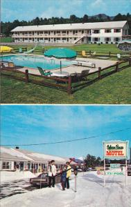 2 View, Sylvan Pines Motel, Swimming Pool, Conway, New Hampshire, United Stat...