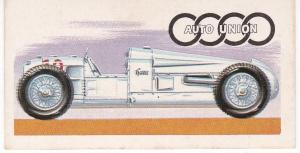 TTrade Card Brooke Bond History of the Motor Car No 37