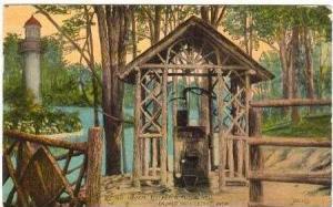 Old Oaken Bucket & Rustic Well, Detroit, Michigan, 1915 PU