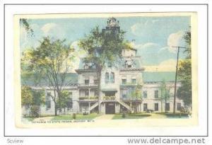 Entrance to State Prison, Jackson, Michigan, 1910s