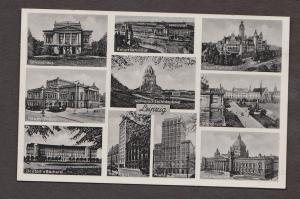 Collage Of Buildings In Leipzig - Unused