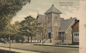 MEAFORD , Ontario , 1900-10s ; Baptist church