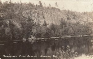 RP: NIAGARA, Wisconsin, 1937; Menominee River Bluffs