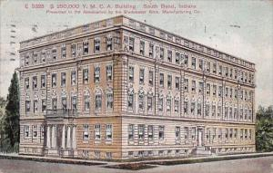 Indiana South Bend 250000 Y M C A Building 1913