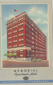 NASHVILLE , Tennessee, 1930-40s ; Memorial Apartment Hotel
