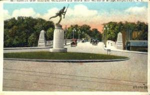 Spanish War Veterans Monument Binghamton NY Unused