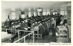 PA - New Cumberland Army Depot, Reception Center, Mess Hall