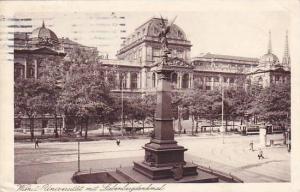 Universitat Mit Liebenbergdenkmal, Wien (Vienna), Austria, 1910-1920s