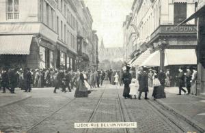 Belgium - Liegé Rue de L'Université 02.38