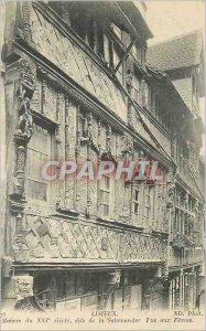 Postcard Old House Lisieux sixteenth Century called the Salamander Street to ...