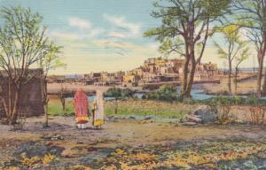Indian Pueblo , New Mexico , 1944