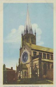 Exterior, Roman Catholic Cathedral, Saint John, New Brunswick,  Canada, 30-40s
