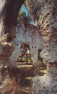 Ruins of Old White Church,  St. Helena Island,  Beaufort County,  South Carol...