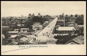 Germany Kamerun Postcard PPC Bellstadt Bell City Cameroun 85149