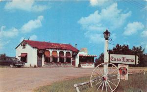 Iron Mountain Michigan~Casa Loma Restaurant~Wagon Wheel~1950s Roadside