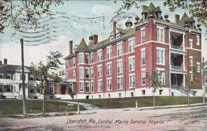 Maine Lewiston Central Maine General Hospital 1909