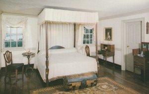 10592 George Washington's Bedroom, Mount Vernon, Virginia 1956