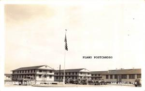 SAN ANGELO,  TEXAS GOODFELLOW AFB BARRACKS-68TH SQD. RPPC REAL PHOTO POSTCARD