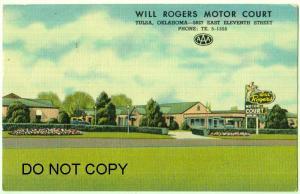 Will Rodgers Motor Court, Tulsa Ok