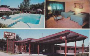 3Views, Motel de Ville, Interior-Bedroom, Swimming Pool, Ottawa, Ontario, Can...