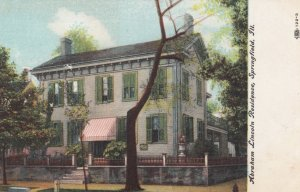 SPRINGFIELD, Illinois, 1900-10s; Abraham Lincoln's Home