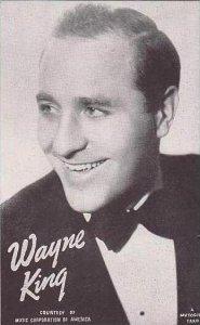 Mutoscope Postcards Wayne King Music Corporation Of America Big Band Era