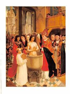 Master of Saint Gilles - Baptis of Clovis