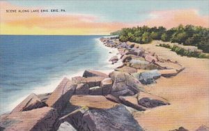 Scene Along Lake Erie Pennsylvania