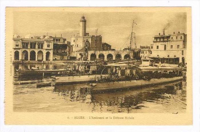 ALGER.-L'Amiraute et la Defense Mobile, 00-10s