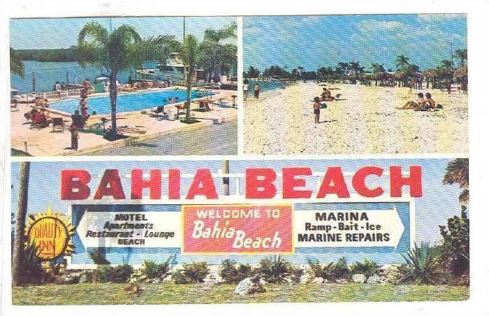 Quality Inn, Bahia Beach, Ruskin,  Florida,   40-60s