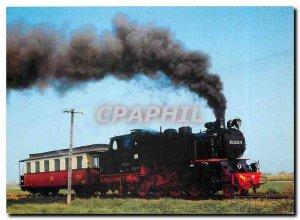 Postcard Modern Locomotive 99 2322 8 am Haltepunkt Heiligendamm Steilküste L...