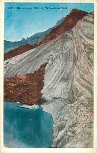 W/B of Grasshopper Glacier Yellowstone Park Wyoming WY 1931