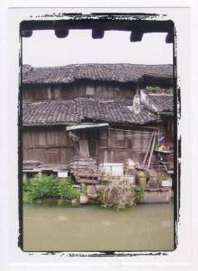People´s Republic of China: ZHEJIANG province , waterfront home, Hangzhou, 2000