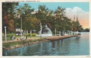 BIRMINGHAM, Alabama, 1910-20s; View of East Lake Park