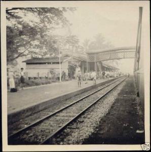 malaysia, PERAK, TANJONG MALIM, Railway Station 30s RP