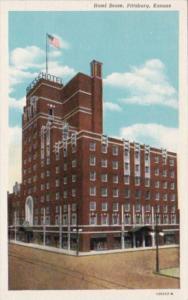 Kansas Pittsburg Hotel Besse Curteich