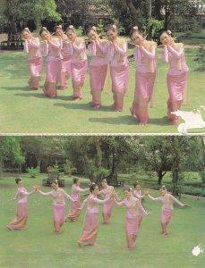 Thailand Finger Nail Dance Dancing 2x Postcard s