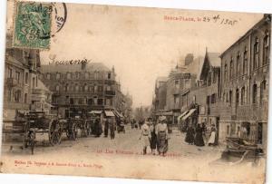 CPA BERCK Plage-Les Voitures a Anes a l'Entonnoir (234717)
