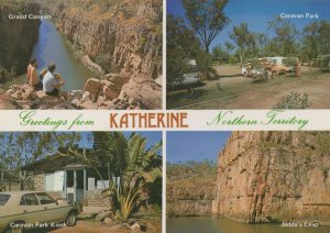 Katherine Caravan Park Australia Postcard