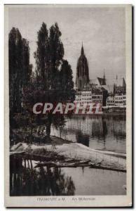 Old Postcard Frankfurt Am Mullermain