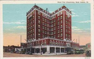 Illinois Rock Island Hotel Fort Armstrong