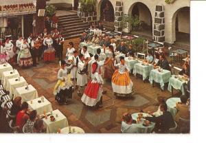 Postal 023681 : Baile tipico. Las Palmas de Gran canaria