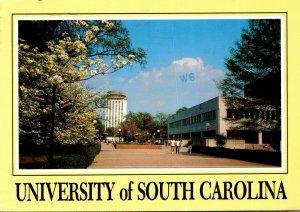 South Carolina Columbia Campus Scene University Of South Carolina 1988