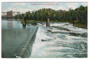 Waterville, Me, Ticonic Falls
