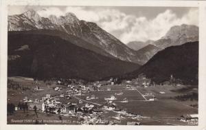 RP, Seefield 1180 m. Mit Wetterstein 2673 m. u., Tirol, Austria, PU-1930
