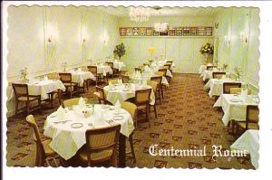 Centennial Room, Food;Rite Restaurant, Woodstock, Ontario, Interior